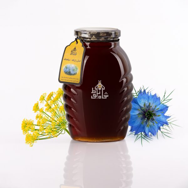 عسل سیاه دانه رازیانه شاه بلوط