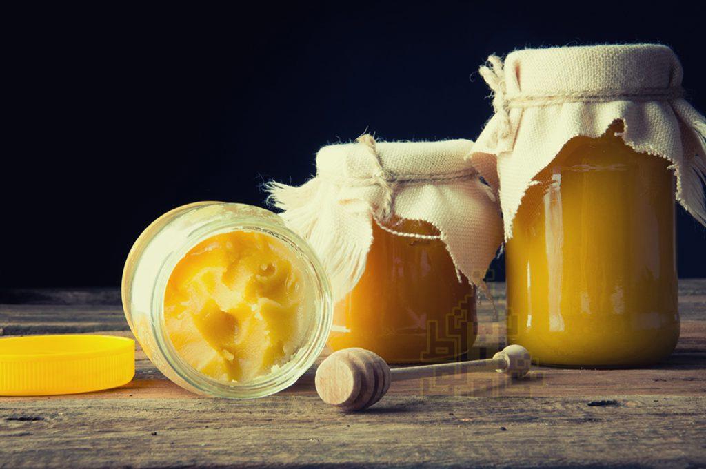 رس بستن عسل
